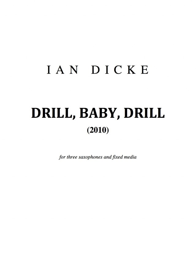 Drill, Baby, Drill (2010)
